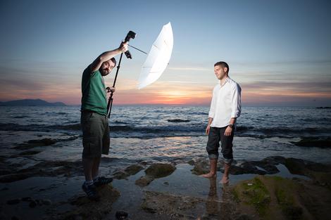 Cómo separar el flash de la cámara